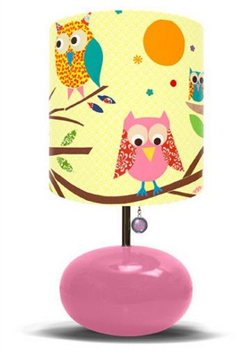 Owls On A Branch Kids Table Lamp By Oopsy Daisy Lighting | Furnikidz.com |