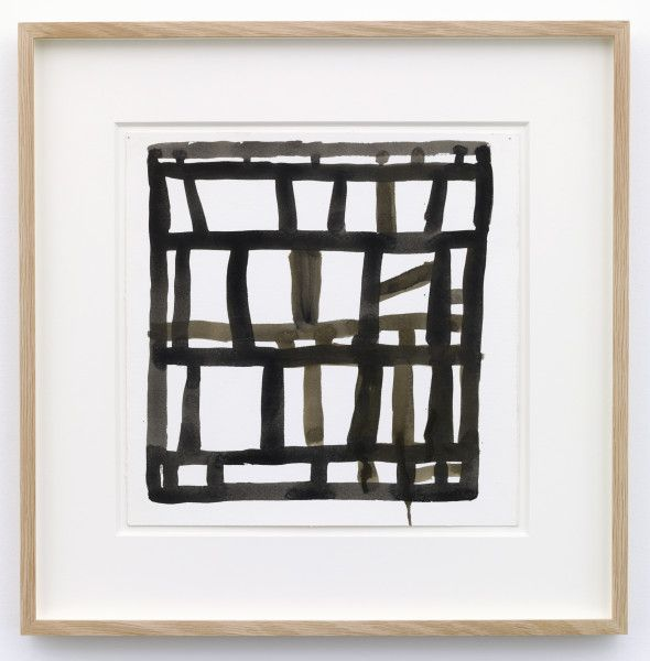 Stanley Whitney Untitled, 2009 Gouache on Fabriano paper 11 x 11 inches 27.9 x 27.9 cm 17 x 17 x 1 3/8 inches (framed) 43.2 x 43.2 x...
