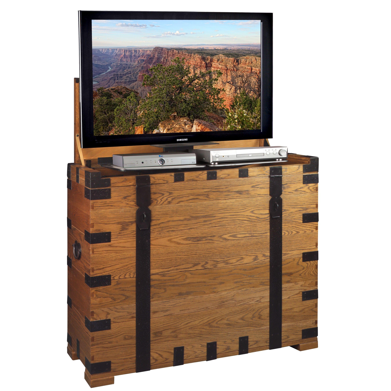 Steamer TV Lift Cabinet 23 Pinterest