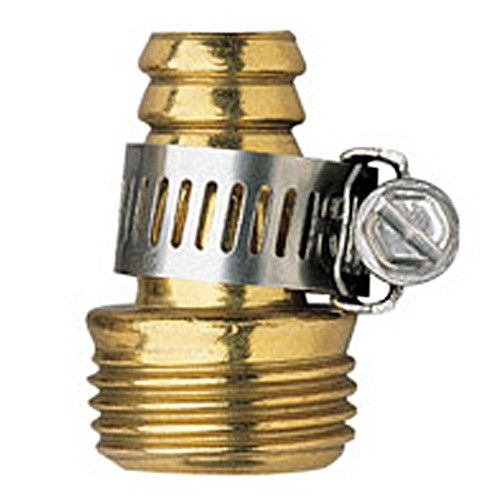 Orbit Male Thread Brass 5 8 Water Hose Repair Garden Hoses Mender 58135n Pack Of 20 Silver Brass Hose Heavy Duty