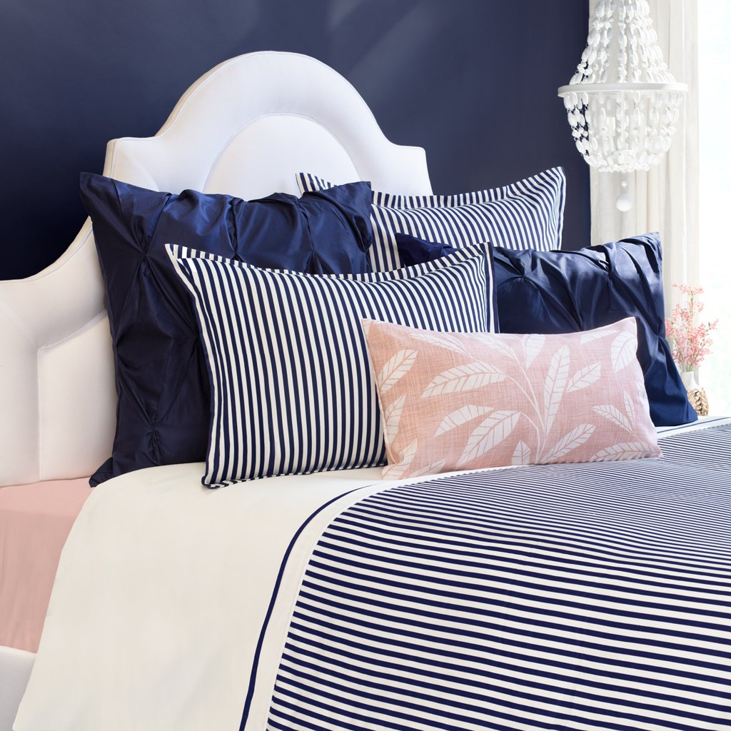 Navy Blue Larkin Duvet Cover Queen Full Nova With Images