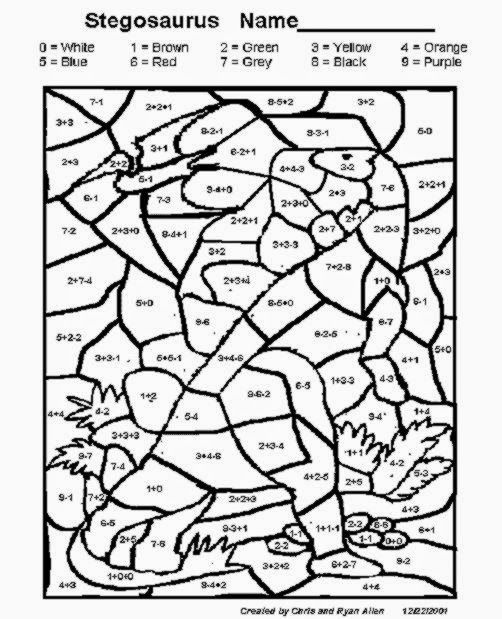 Coloring Squared Multiplication Worksheets Coloring Pages For