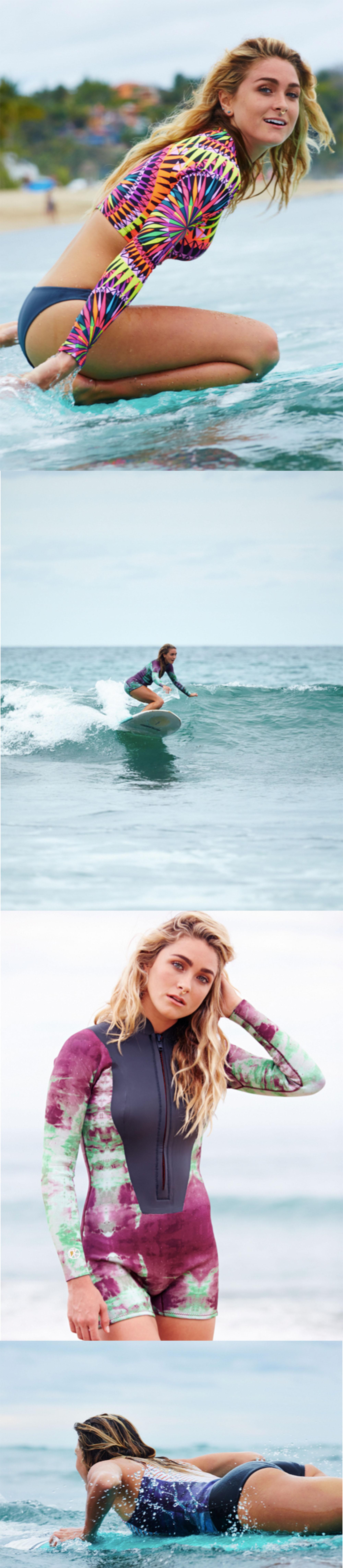 About a Girl Meet FP Surf Model Ivy Miller! Surf girls