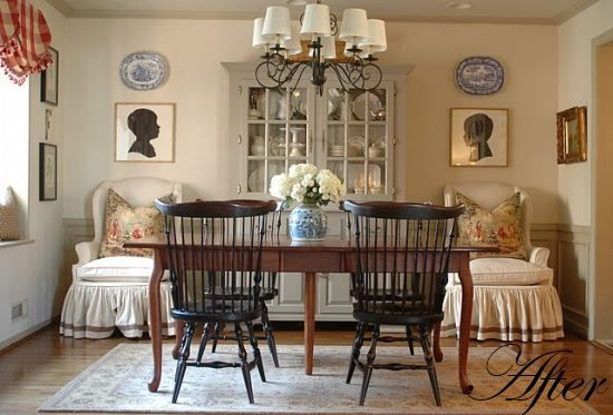 LOVE These Big Chairs In The Dining Room And Checkout Cherry China Cabinet That