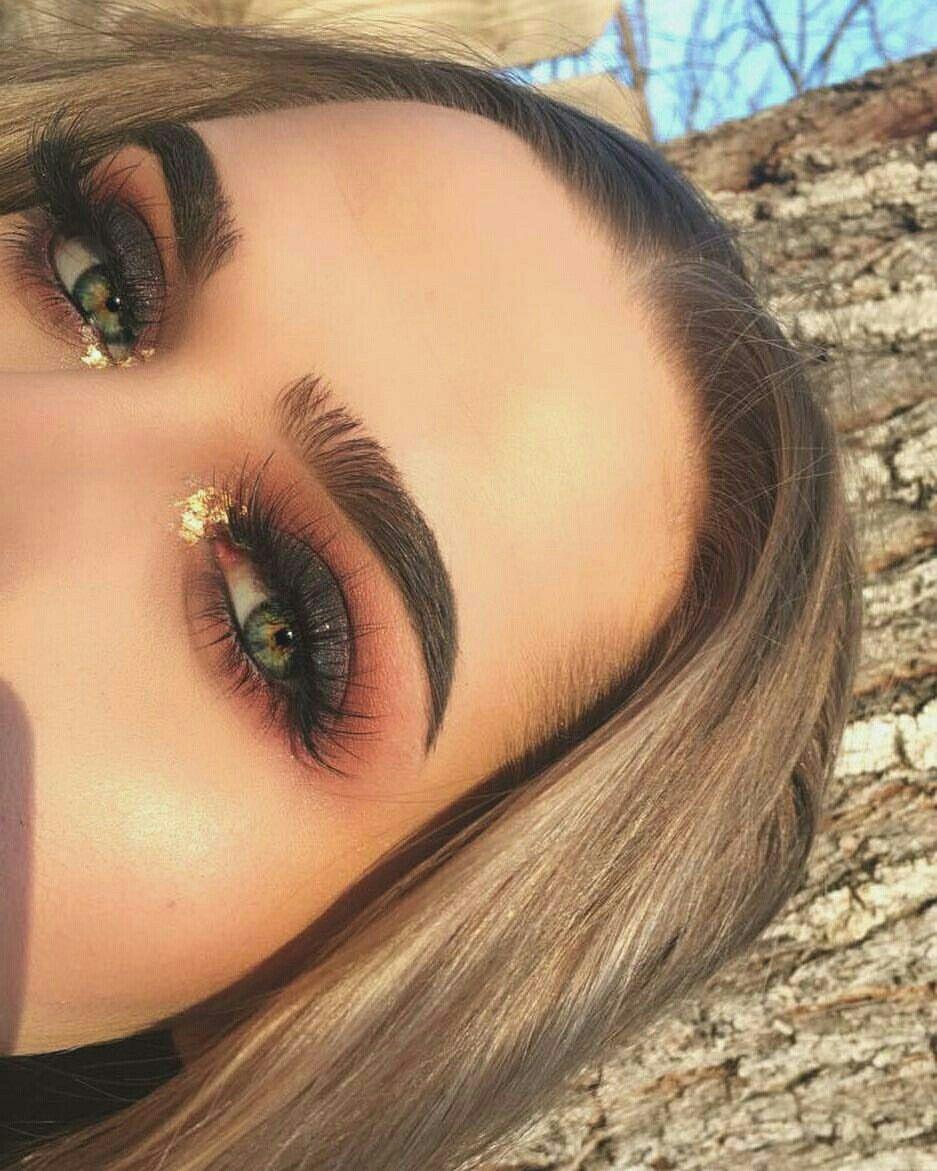 follow for more dope content pinterest: @darkskyn | makeup