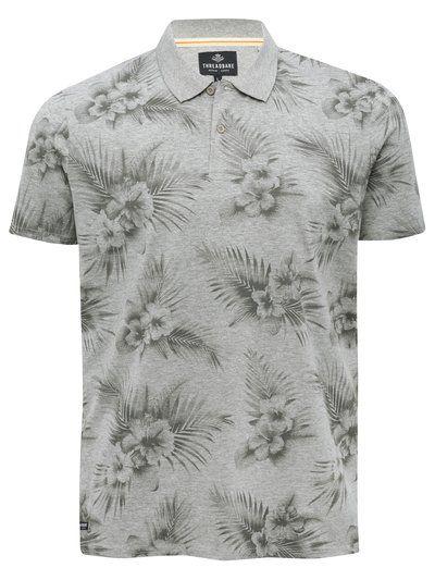 Threadbare floral print polo shirt Look Masculinos 40af8db57bd82