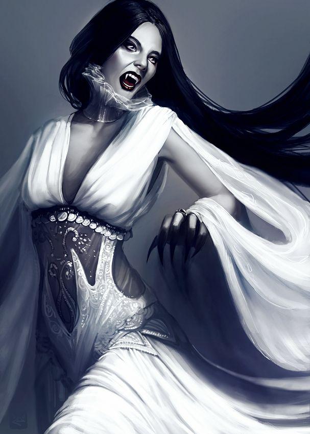 Арт картинки вампиров