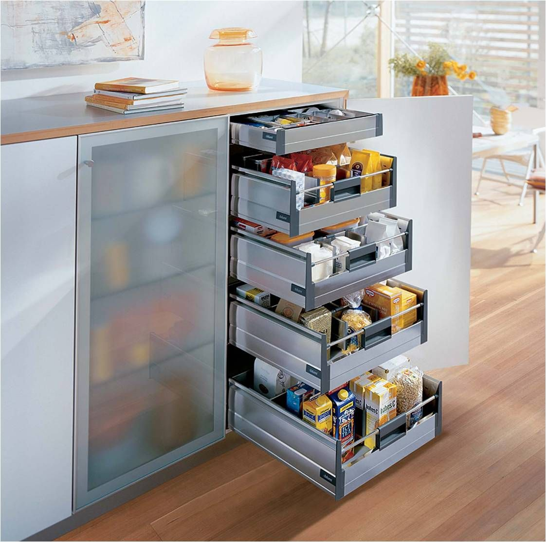 kitchen pantry cabinet with drawers http www toprakmobilya tr wp content uploads blum 21928