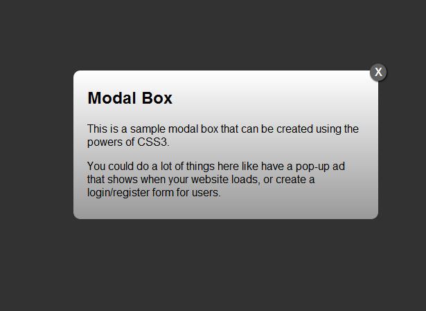 Creating A Modal Window With Html5 Amp Css3 Modal Window Coding Tutorials Web App Design