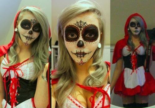 little dead riding hood | Halloween makeup | Pinterest | Red ...