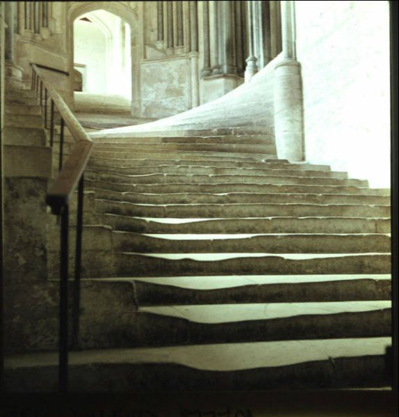 Wells Cathedral Chapter House Stairs