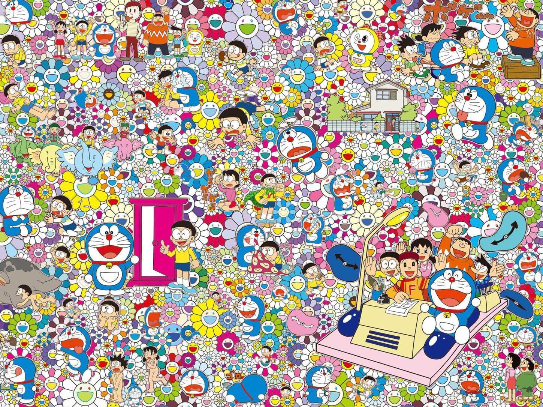 Image Result For Takashi Murakami Doraemon 예술