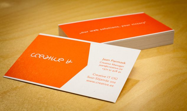 Creative IT Visiting Cards Designing Through Life Pinterest - visiting cards