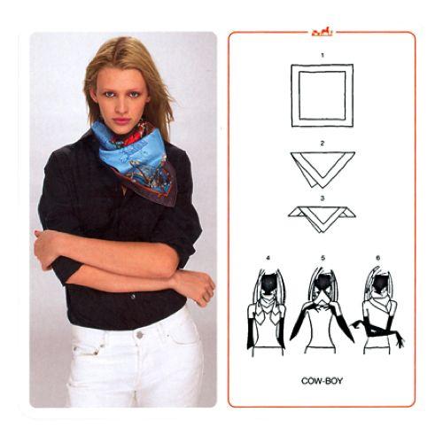 come indossare un foulard   Tips   Pinterest   Hermes, Scarf styles ... 05b454e6933