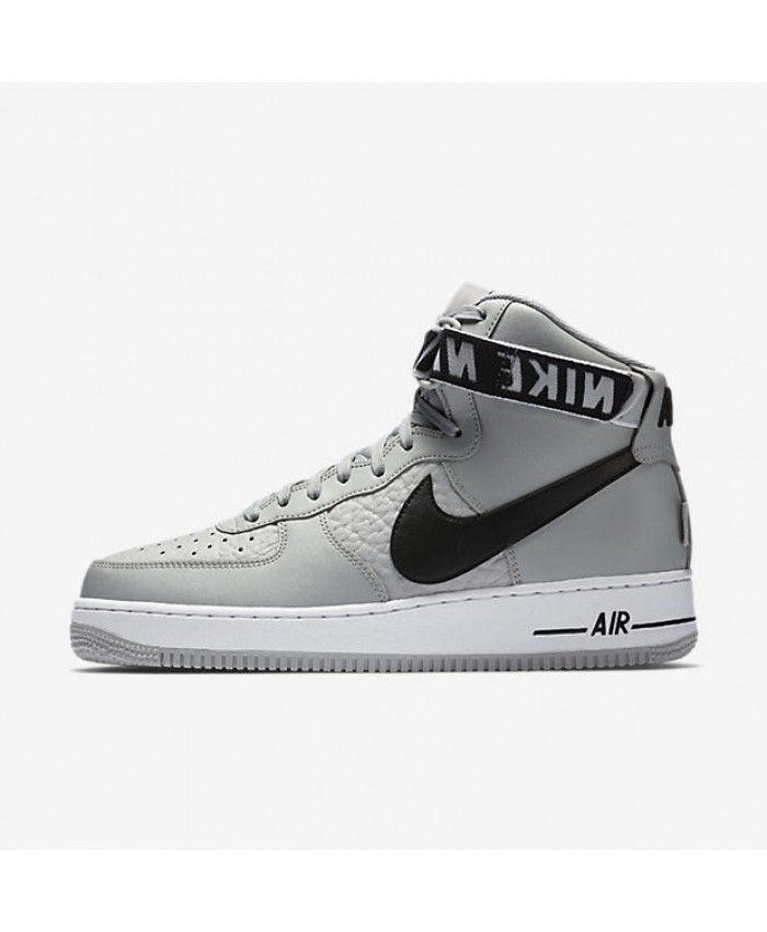 separation shoes d2430 206e7 Nike Air Force 1 High 07 NBA Flat Silver White Black 315121-044