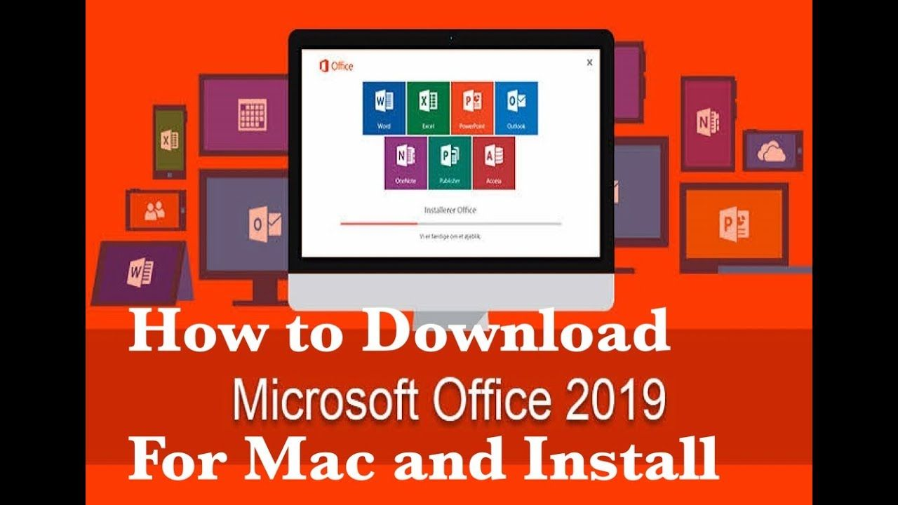 Microsoft Office 2019 For Mac OSX v16 17 VL Activated Free Download