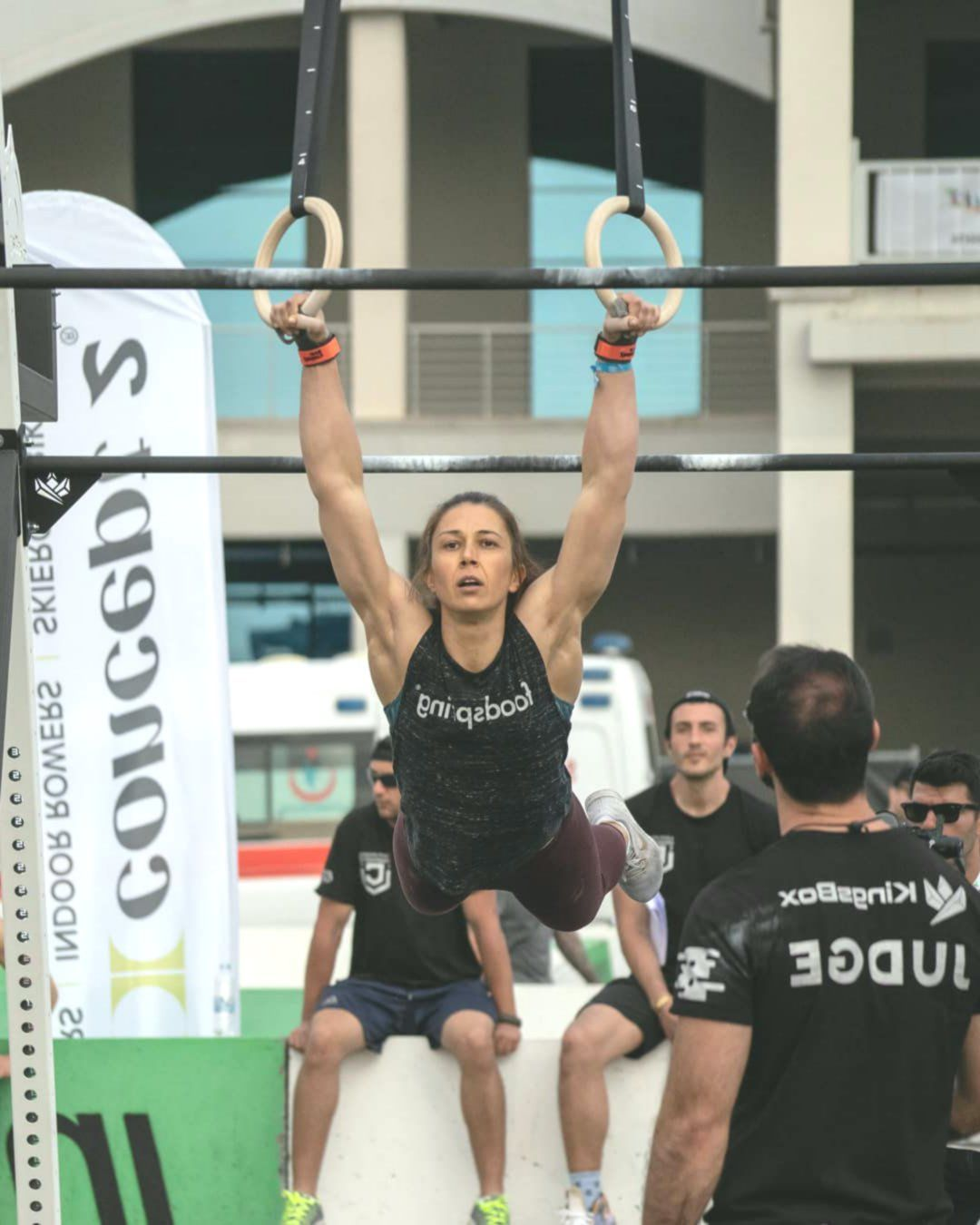 First Turkish Woman To Qualify For The Crossfit Games Finals Neyran Guneli Crossfit Games High Intensity Training Sports Tournaments