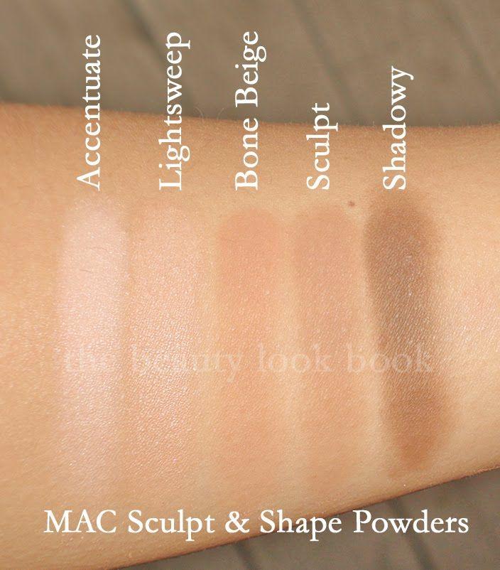Mac Pro Store Picks Sculpt Shape Powders With Images Mac