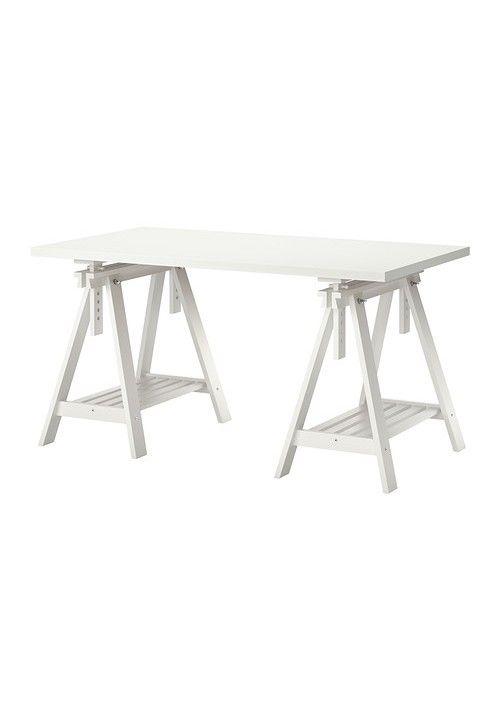 ikea linnmon finnvard table 150cm white bureau s ikea desk ikea rh pinterest co uk