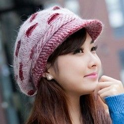 ea4ba300d Latest Winter Caps For Indian And pakistani Girls (11) | Girls ...