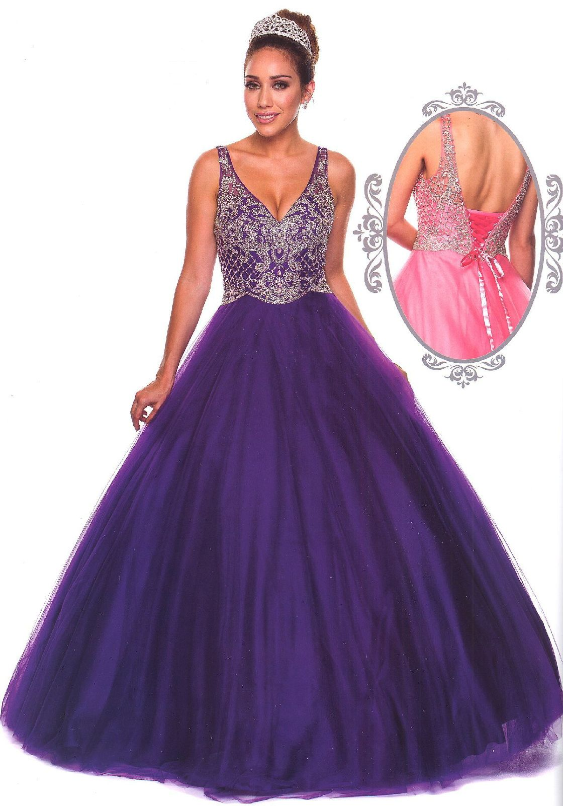 Prom dresses quinceanera dressesucbrueajtucbrueillusion sheer overlay
