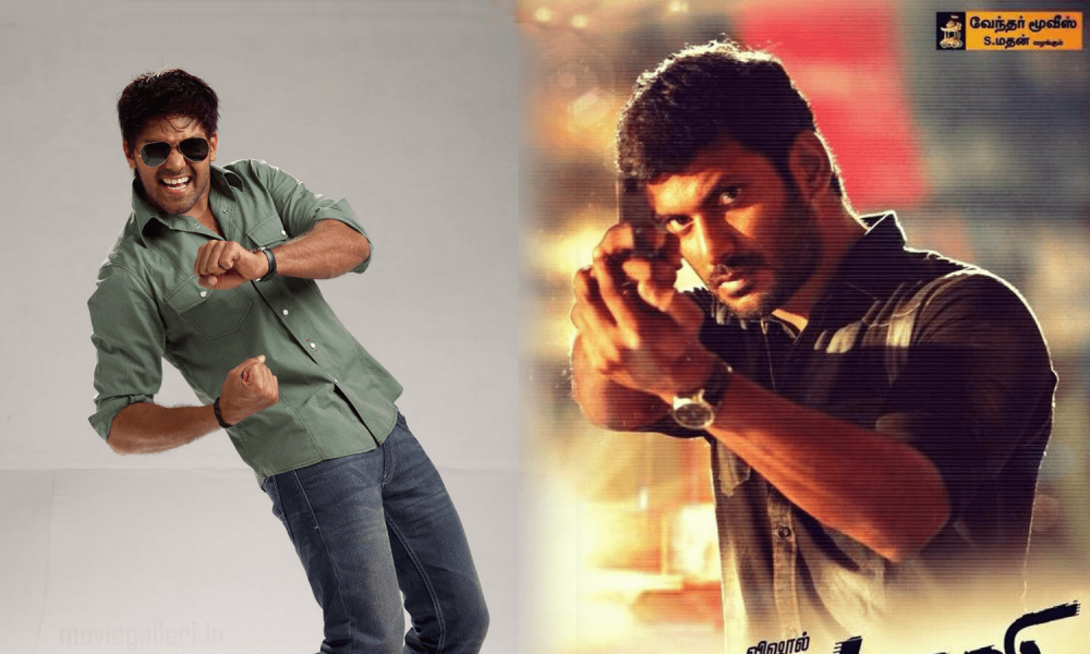 Arya and Vishal's funny Conversation on Twitter about Puli
