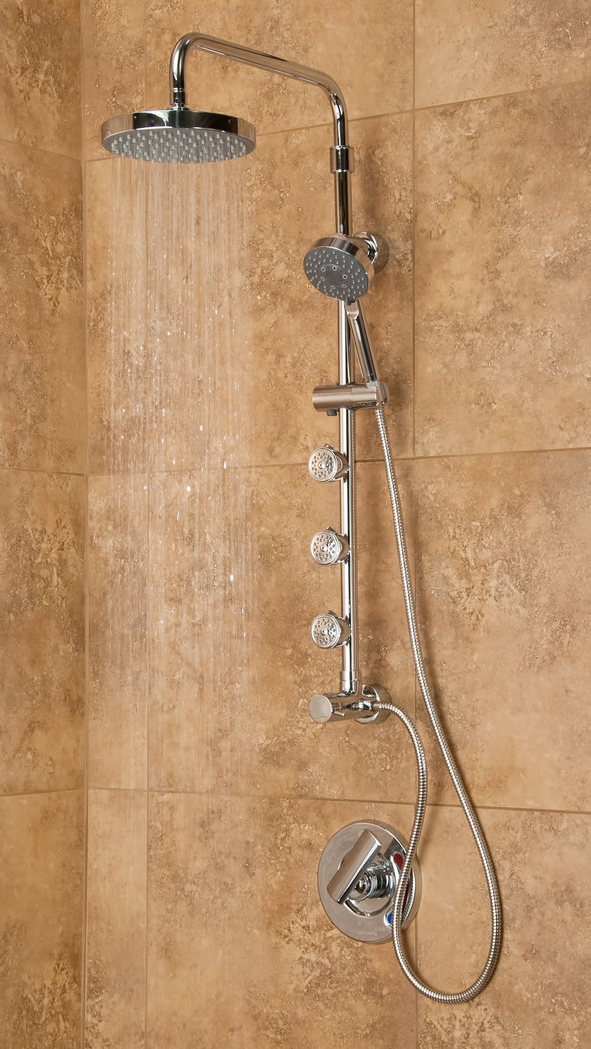 Lanikai Shower Spa System | Shower arm, Shower systems and Rain
