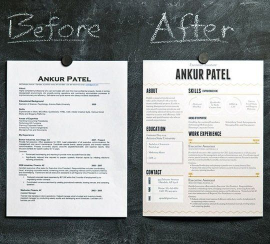 how to make your resume stand out job hunt pinterest