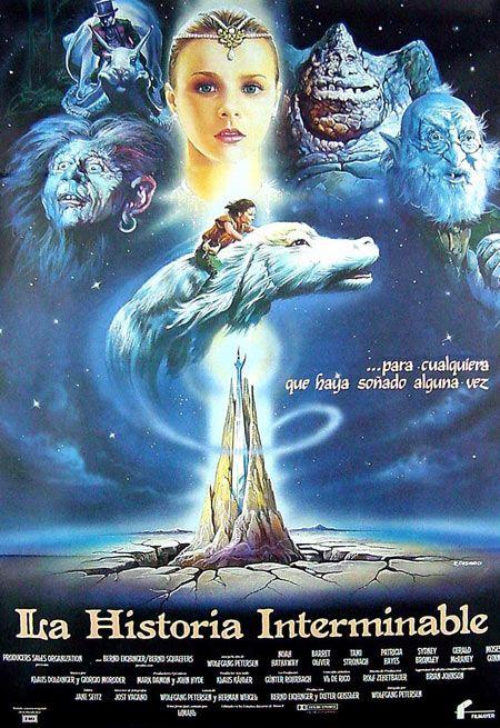 La Historia Interminable Poster Carteles De Cine Y Posters La Historia Interminable Peliculas De Culto La Historia Sin Fin