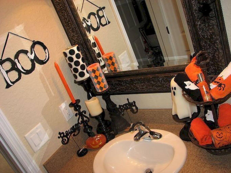 Diy halloween decoration ideas (9)  Halloween bathroom