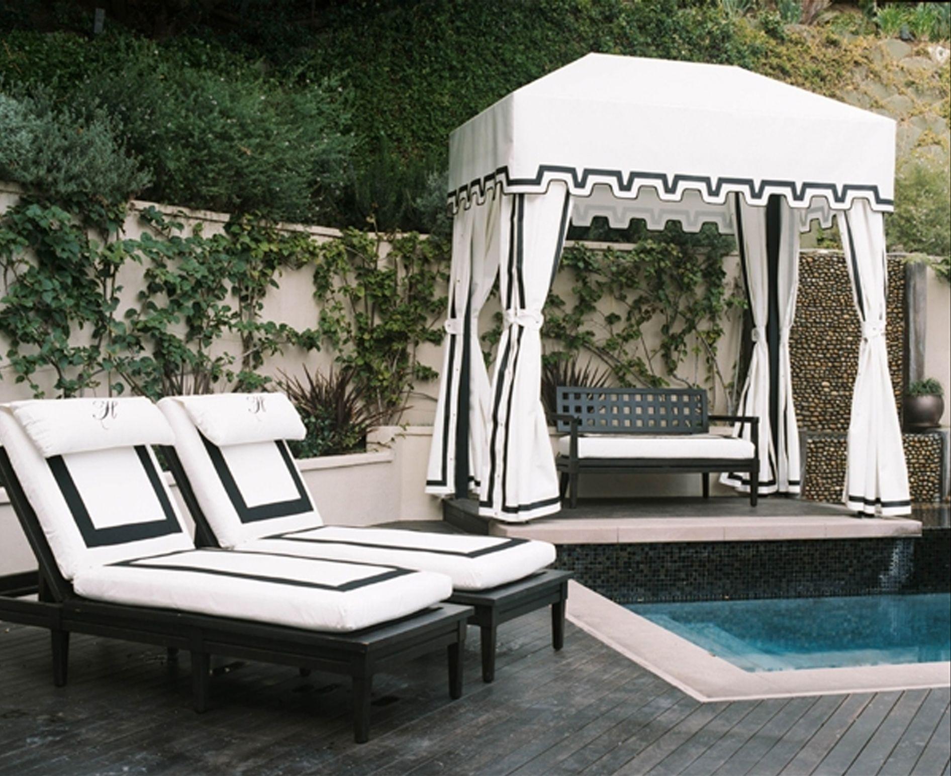 Great Depiction Of Pool Cabana Kits Design