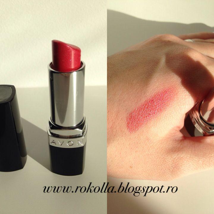 Ruj Avon Rokoll At Blog Red Lips Blog Red