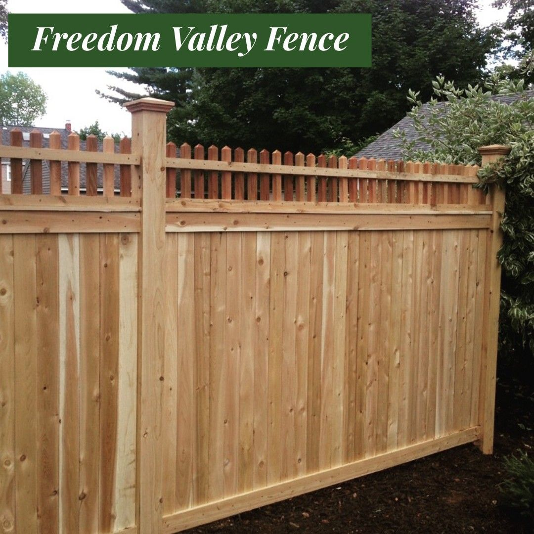Cedar Stockade Privacy Fence Cedar Fence Privacy Fence Fence