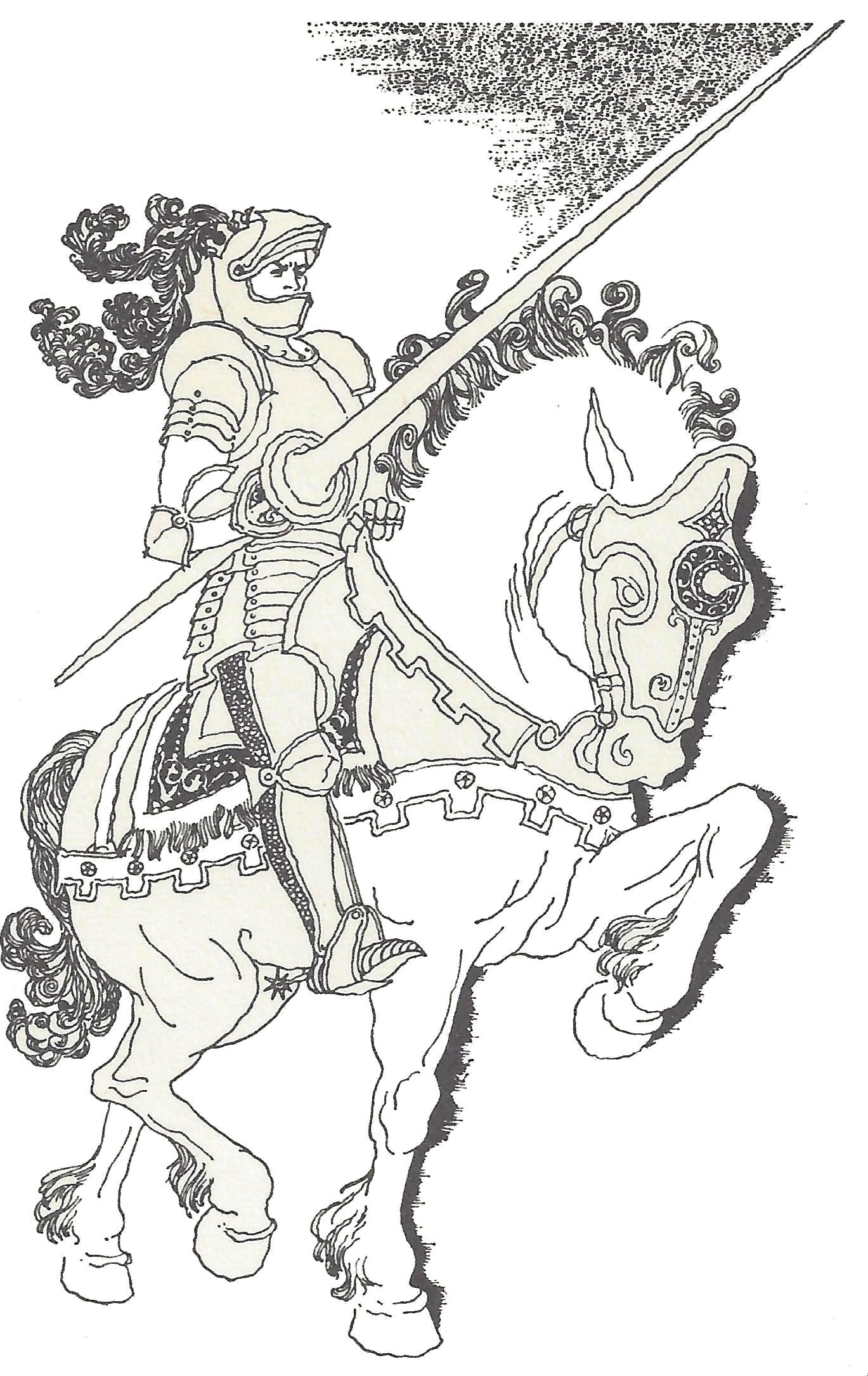Best Knights | Coloring pages, Coloring book pages ...
