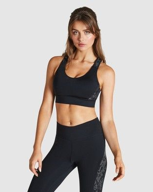 Please Note: THE Iconic IS Unable TO Ship This Product TO NEW Zealand. The Running Reflective High Impact Sports Bra from