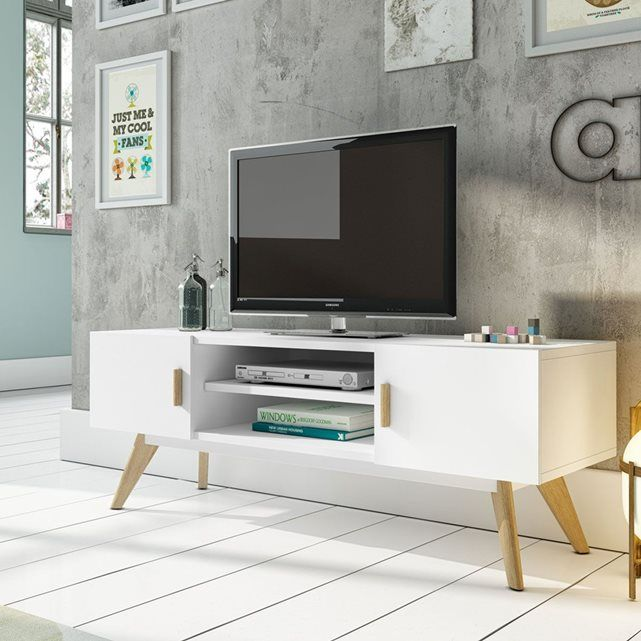 Meuble TV design Compas | Salons, Meuble télé design and TVs