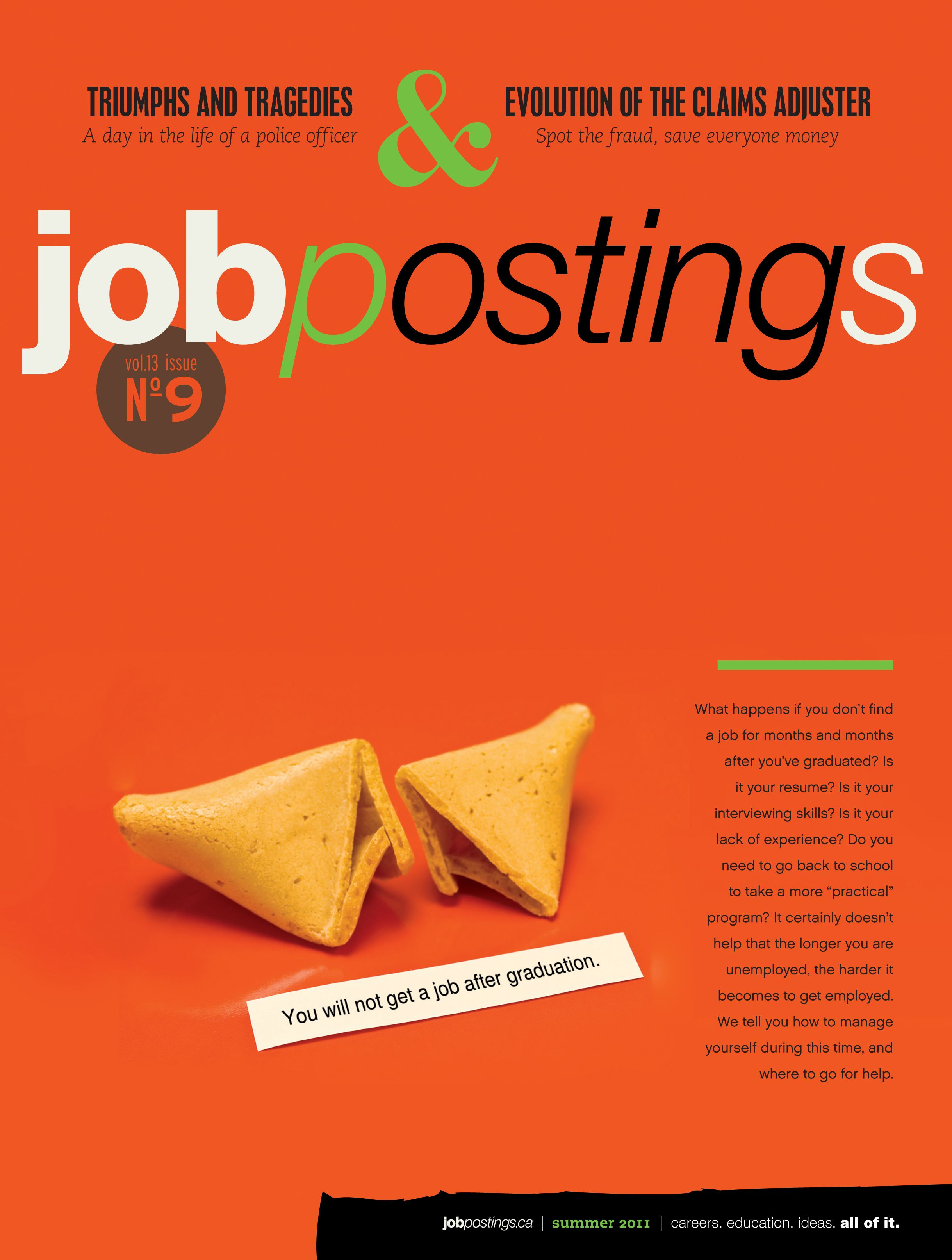 Jobpostings Magazine Summer 2011 Youth Unemployment Magazine