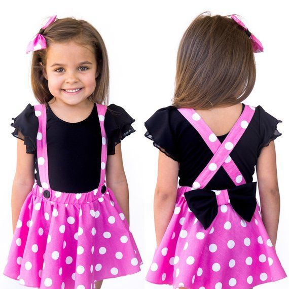 Priority Mail Red Pink Polka Dots Criss Cross Suspenders Circle