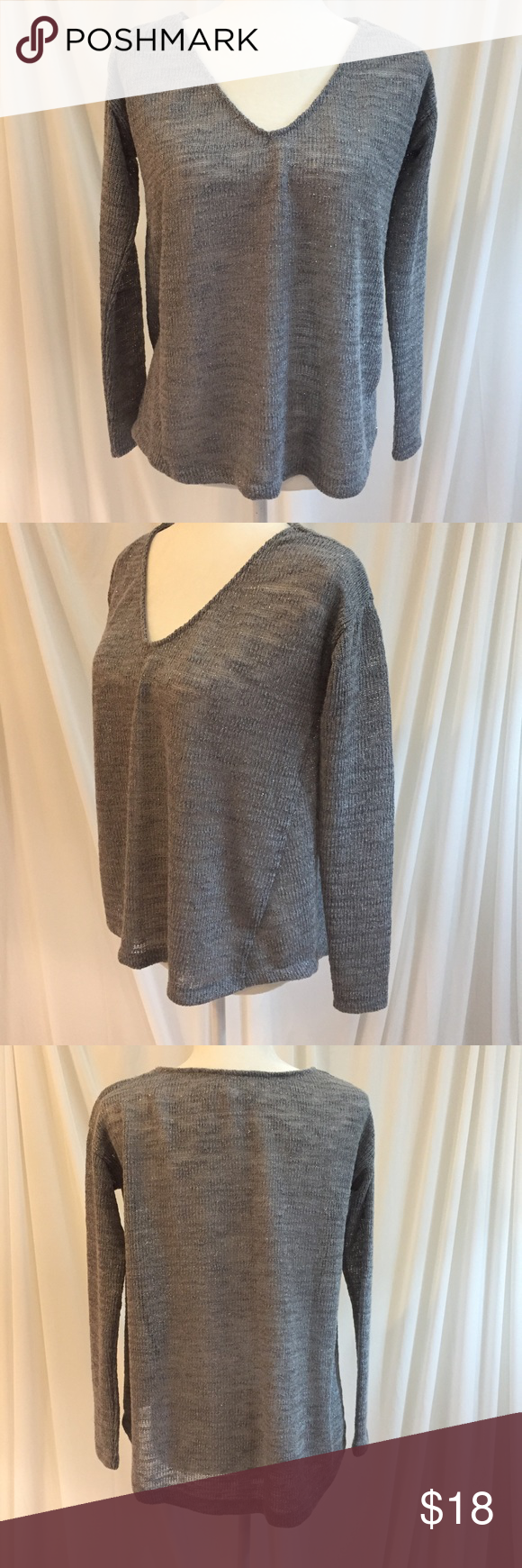 Aeropostale Silver & Grey Sweater | Aeropostale and Flaws
