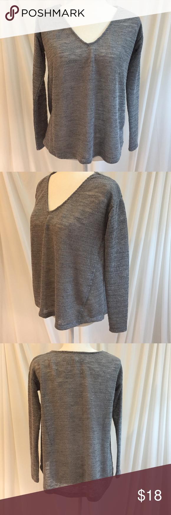 Aeropostale Silver & Grey Sweater | Aeropostale and Flaws