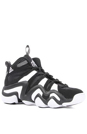 Adidas Sneaker Crazy 8 in Black  White