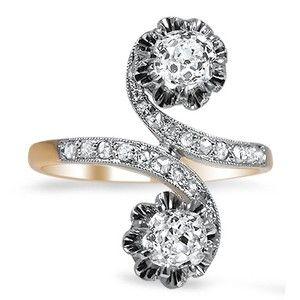 The Brilliana Ring #BrilliantEarth #Vintage