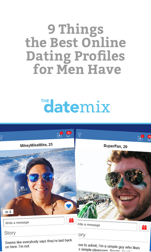 Common online dating profiles