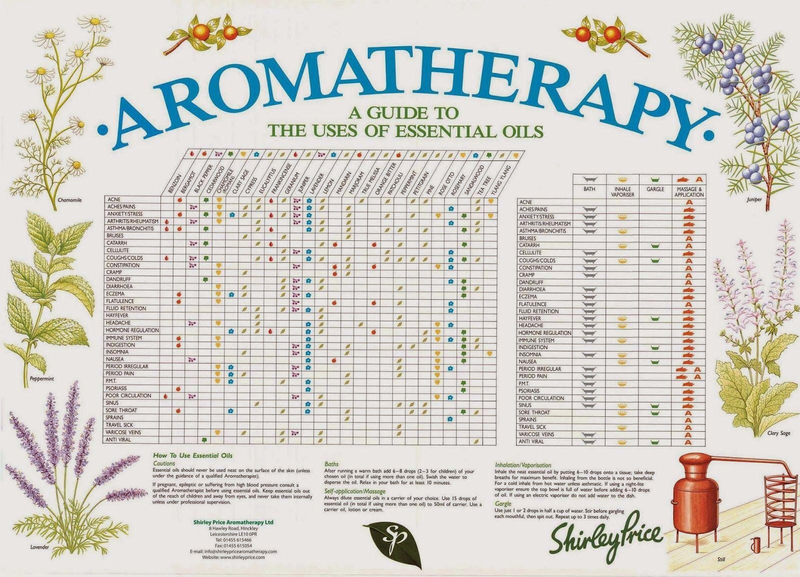 Shirley Price Aromatherapy: The Shirley Price Aromatherapy A-Z ...