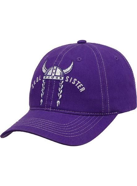 Show off your team spirit with this Vikings SKOL Sister Adjustable Hat!  This hat features a rhinestone logo. Rhinestone logo Adjustable strap  closure 872e9a155