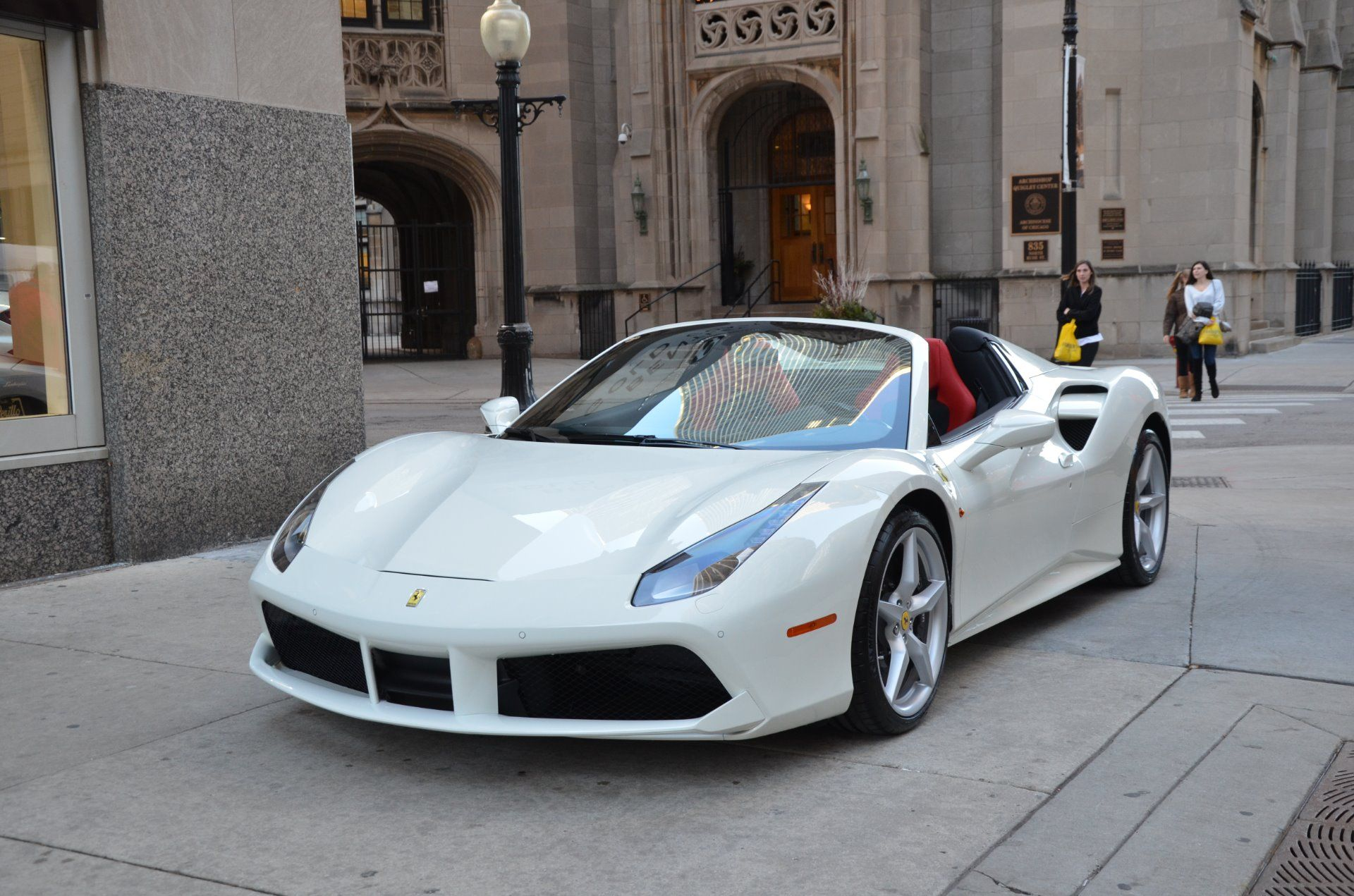 Image Result For Ferrari 488 Spider White Ferrari Ferrari 488
