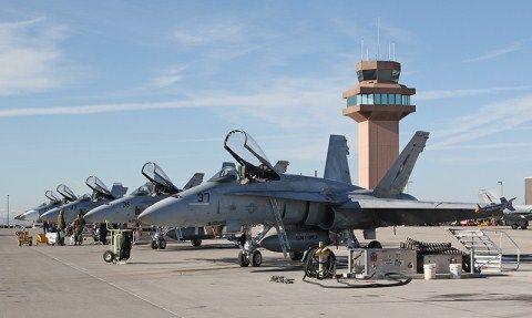 TOPGUN - NAS Fallon, NV - Navy Strike Fighter Tactics Instructor Program.