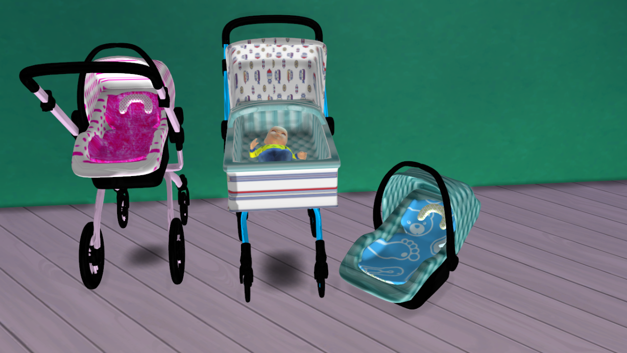 Sims 4 Toddler Stroller Mod Lana Cc Finds Lena Sims Sims 4 Car Seat Lily Mothers Day