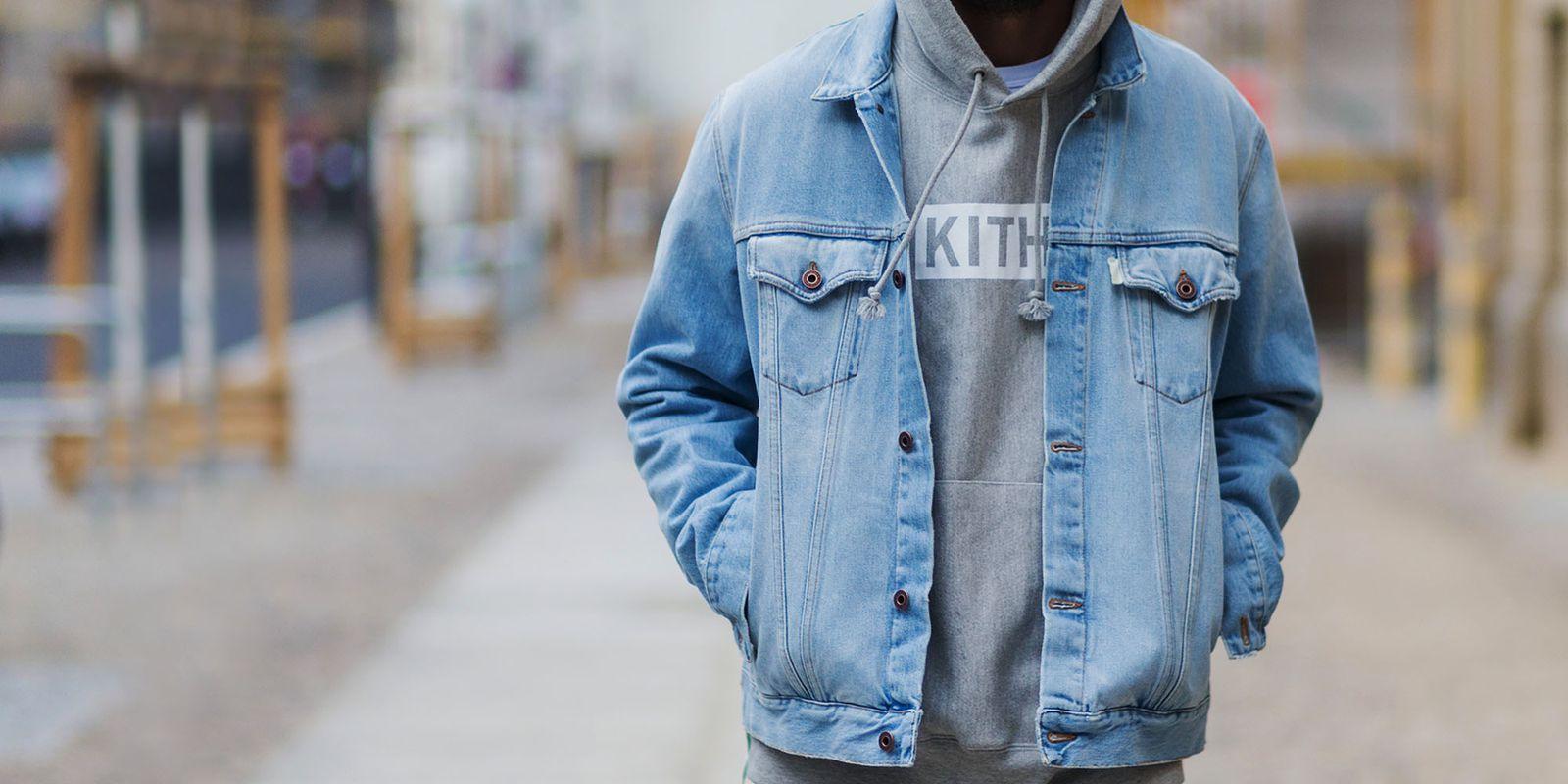 The Jean Jacket Is More Than Just Your Favorite Fall Style Swerve Denim Jacket Men Denim Jeans Men Jackets [ 800 x 1600 Pixel ]