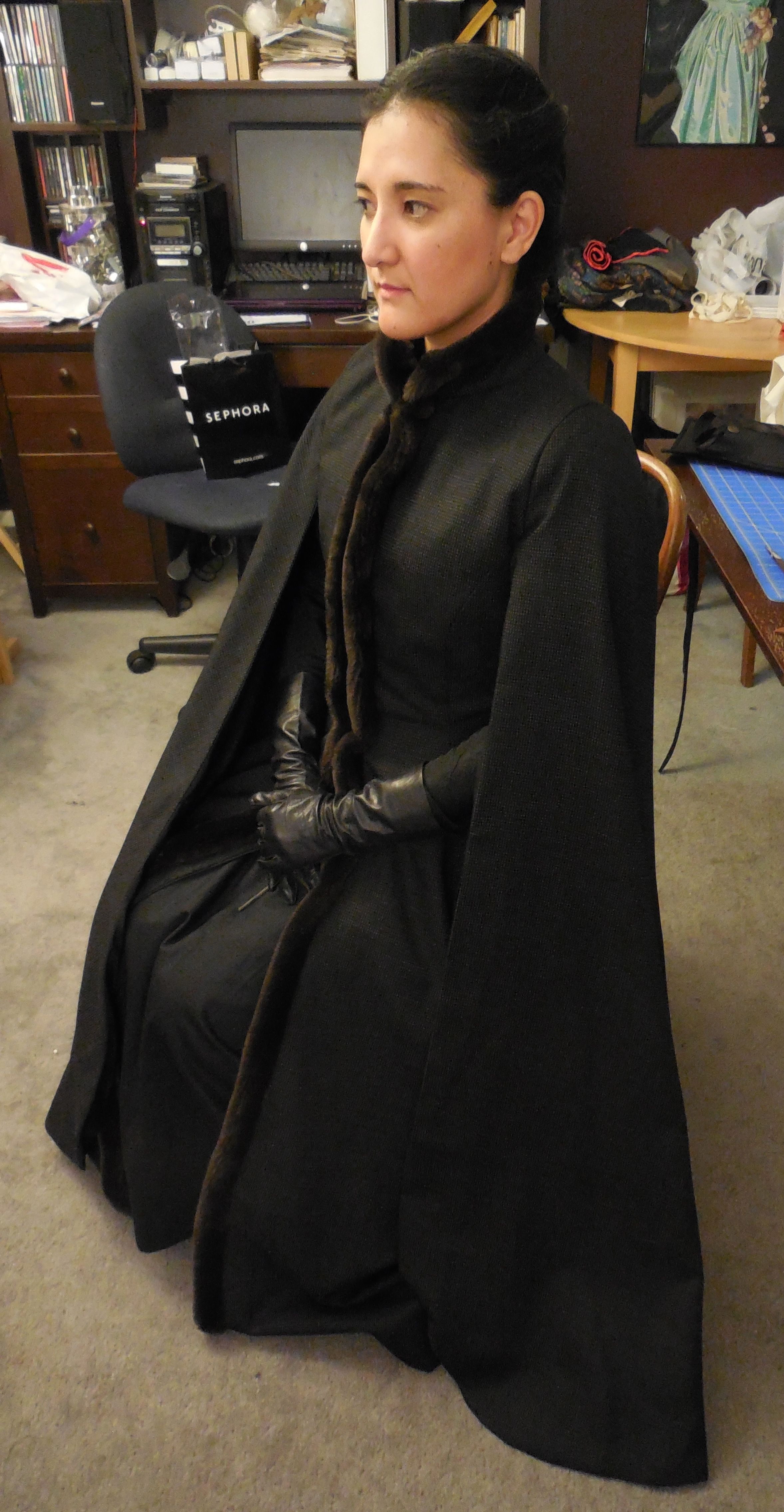 Sansa Stark Game of Thrones Cosplay Alayne Stone Dark!Sansa | Sansa ...